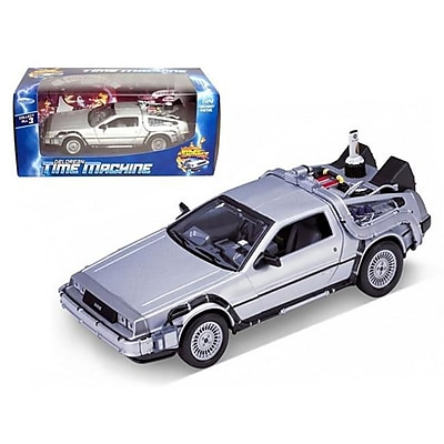 Welly Delorean From Movie Back to The