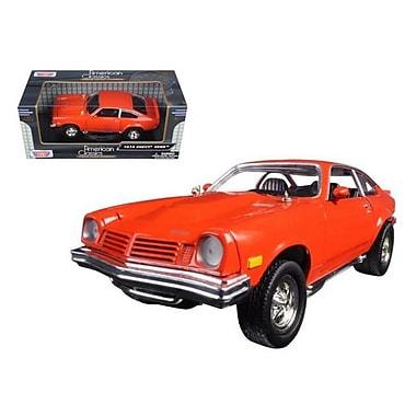 Motormax 1974 Chevrolet Vega Orange 1-24 Diecast Model Car (DTDP723)