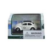 Cararama 1 by 72 Scale Diecast Volkswagen Beetle 53 in Display Case Model Car (DTDP3019)