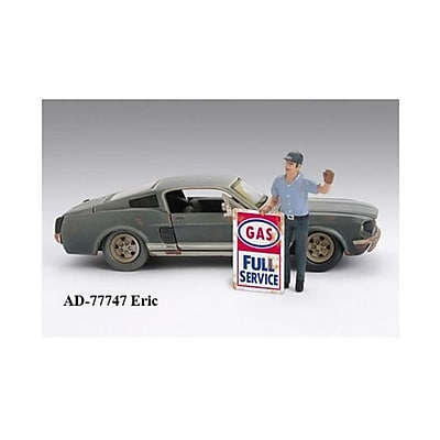 American Diorama Gas Station Attendant Eric for