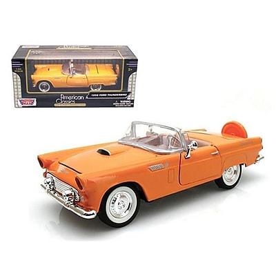 Motormax 1956 Ford Thunderbird Orange 1-24 Diecast