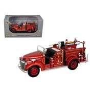 Signature Models 1941 GMC Fire Engine Truck Red 1-32 Diecast Model Car (DTDP2068)