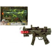 DDI 11.5 in. Toy Gun Battery Operated Vibrate with Light & Sound - Assorted Colors (DLR339491)