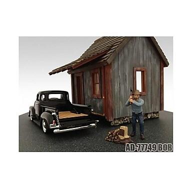 American Diorama Logger Bob Figure for 1-24 Diecast Model Cars (DTDP2185)