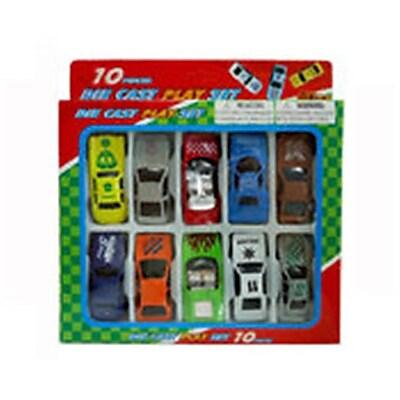 DDI Diecast Car Collection - 10 Piece,