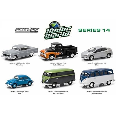 Greenlight Motor World Series 14, 6 Piece