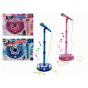 DDI Musical B O Microphone withstand, Pink & Blue (DLR339490) by