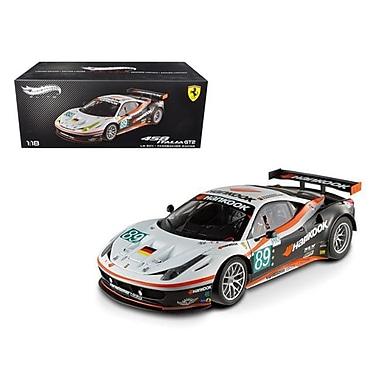 Hot wheels 1 by 18 Scale Diecast Ferrari 458 Italia GT2 24 Hours Of Le Mans89 Elite Edition Model Car (DTDP2787)