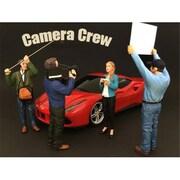 American Diorama Camera Crew Figure I Camera Man for 1-24 Scale (DTDP3772)