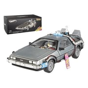 Hot wheels Elite Cult ClassicsThe Future Time Machine Delorean with Extras 1-18 Diecast Car Model (DTDP1903)