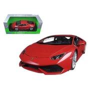 Welly Lamborghini Huracan LP 610-4 Red 1-18 Diecast Model Car (DTDP1151)