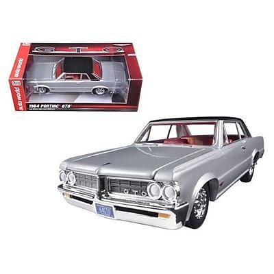 Autoworld 1964 Pontiac GTO Silvermist Grey with