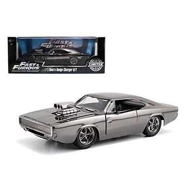 Jada Fast & Furious Movie Doms Dodge Charger Chrome Limited Edition Diecast Model Car for 1-24 Scale (DTDP3702)