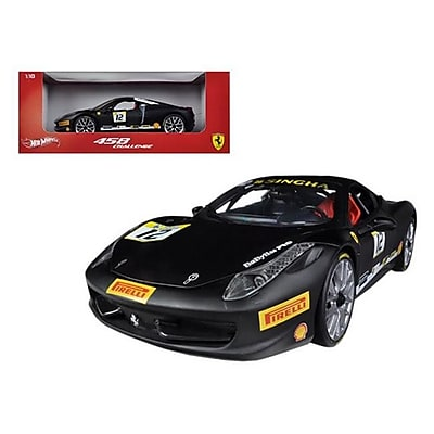 Hot wheels Ferrari 458 Challenge Matt Black