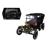 Motorcity Classics 1915 Ford Model T Touring Soft Top Black 1-18 Diecast Car Model (DTDP2484)