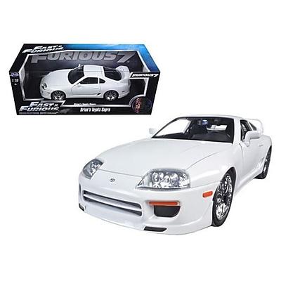 Jada Brians Toyota Supra White Fast &