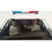 American Diorama Seated Sheriff Officers 2 Piece Figure Set for 1-18 Models Car (DTDP1875)