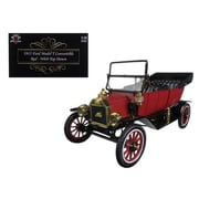 Motorcity Classics 1915 Ford Model T Roadster Converible Red 1-18 Diecast Model Car (DTDP2486)