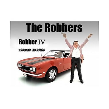 American Diorama The Robbers Robber IV Figure for 1-24 Scale Models (DTDP2096)