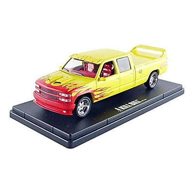 Greenlight 1997 Custom Crew Cab Pussy Wagon Pickup Truck Kill Bill Vol. 1 & 2 Movie Diecast Model Car for 1-43 Scale (DTDP3804) 24125253