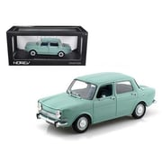 Norev 1974 Simca 1000 LS Arctic Blue 1-18 Diecast Car Model (DTDP1328)