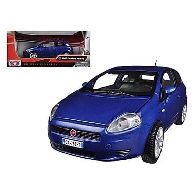Motormax Fiat Grande Punto Blue 1-24 Diecast Car Model (DTDP615)