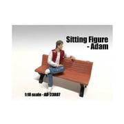 American Diorama Sitting Figure Adam for 1-18 Scale Models (DTDP2041)