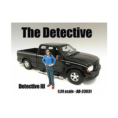 American Diorama The Detective No.3 Figure for 1-24 Scale Models (DTDP2036)