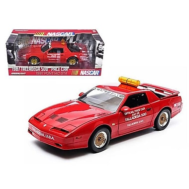 Greenlight 1987 Pontiac Firebird Trans Am GTA Talladega 500 Pace Car Nascar 1-18 Diecast Model Car (DTDP526)