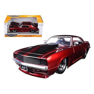 Jada 1969 Chevrolet Camaro Red 1-24 Diecast Model Car (DTDP1582)