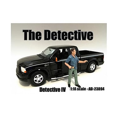 American Diorama The Detective No.4 Figure for 1-18 Scale Models (DTDP2052)