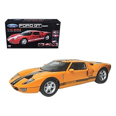 Motormax Ford GT Concept 1-12 Scale Diecast Model Car, Yellow (DTDP3770)