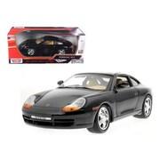 Motormax Porsche 911 Carrera Black 1-18 Diecast Model Car (DTDP432)