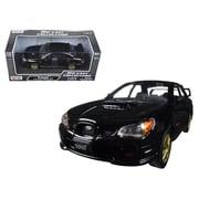 Motormax 1 by 24 Scale Diecast Subaru Impreza WRX STI Black Model Car (DTDP2883)