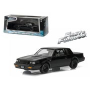 Greenlight 1 by 43 Diecast Doms 1987 Buick Grand National GNX The Fast & the Furious Movie 2009 Model Car (DTDP2816)