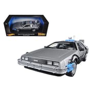 Hot wheels Back to The Future Time Machine Delorean with Mr. Fusion 1-18 Diecast Model Car (DTDP1930)