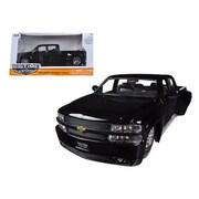 Jada 1999 Chevrolet Silverado Dooley Black 1-24 Diecast Car Model (DTDP1356)