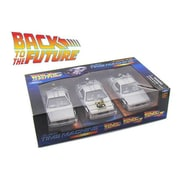 Welly Back to The Future 1, 2, 3 Trilogy Delorean Time Machine Set 1-24 Diecast Car Models (DTDP1811)