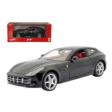 Hot wheels Ferrari FF Black 1-18 Diecast Car Model (DTDP2380)