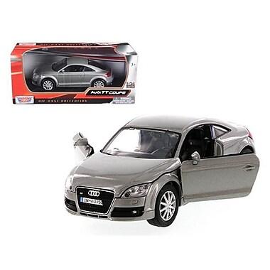 Motormax 2007 Audi TT Coupe Grey 1-24 Diecast Car Model (DTDP611)