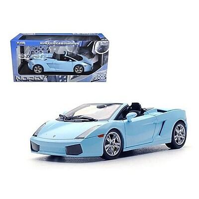 Norev Lamborghini Gallardo Spyder Baby Blue 1-18