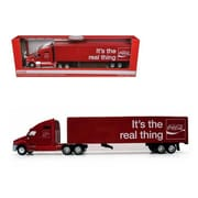 Motorcity Classics Coca Cola Its The Real Thing Tractor Trailer 1-64 Diecast Model (DTDP2501)