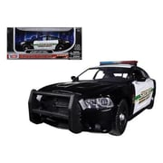 Motormax 2014 Dodge Charger Pursuit Socorro County Sheriff Police 1-24 Diecast Car Model (DTDP608)