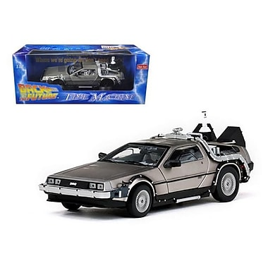 Sun Star Delorean Time Machine From Back to The Future II Movie 1-18 Diecast Model Car (DTDP1828)