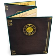 Brybelly Holdings The Masters Tome Customizable DM Screen, Green (BRYBL6012)