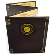 Brybelly Holdings The Masters Tome Customizable DM Screen, Brown (BRYBL6013)