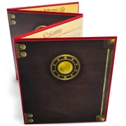 Brybelly Holdings The Masters Tome Customizable DM Screen, Red (BRYBL6010)