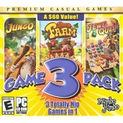 MumboJumbo 154052 MumboJumbo 3 Game Pack - Jewel Quest, Jungo & Little Farm (XS154052)