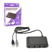TTX Tech Wii U 4 Port GC Controller Adapter (INNX1613)