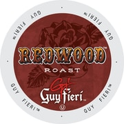 Guy Fieri Coffee Redwood Roast, Single Serve Cup Portion Pack for Keurig K-Cup Brewers, 48 Count (SNGF5132)